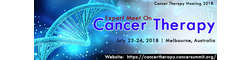 Experts Meet On Cancer Therapy 2018