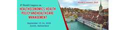 4th World Congress on Health Economics, Health Policy and Health care Management 2018