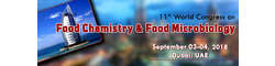 11th World Congress on  Food Chemistry & Food Microbiology 2018