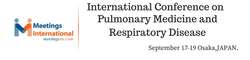 International Conference On Pulmonary Medicine & Respiratory Disease 2018