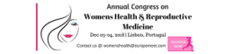 Annual congress on Womens Health & Reproductive Medicine 2018