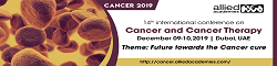 14th International Conference on Cancer and Cancer Therapy 2019