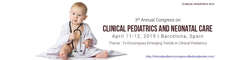 3rd Annual Congress on Clinical Pediatrics and Neonatal Care 2019
