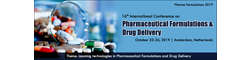 16th International Conference on Pharmaceutical Formulations & Drug Delivery 2019