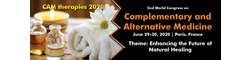 2nd World congress on complementary and alternative medicine