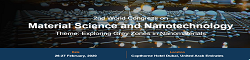 2nd World Congress on Material Science and Nanotechnology