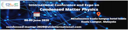 International Conference and Expo on Condensed Matter Physics
