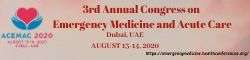 3rd Annual Congress on Emergency Medicine and Acute Care