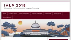 International Conference on Asian Language Processing (IALP 2014)