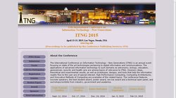 12th International Conference on Information Technology - New Generations (ITNG 2015)