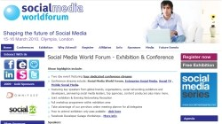 Social Media World Forum Europe 2010