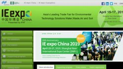IE Expo 2015 - International Trade Fair for water, sewage, refuse, recycling, air pollution control and energy conservation