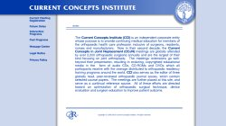 Current Concepts in Joint Replacement - CCJR (Winter 2012)
