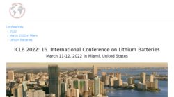 18th International Meeting on Lithium Batteries 2016