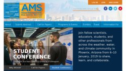 95th AMS Annual Meeting (American Meteorological Society) 2015