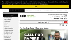 SPIE Advanced Lithography 2016