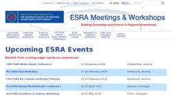 22nd ESRA Cadaver Workshop 2015