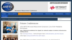 85th ARFTG Microwave Measurement Symposium 2015