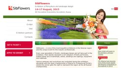 SibFlowers 2015 - Exhibition of floriculture and landscape design