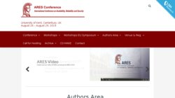 The 10th Conference on Availability, Reliability and Security (ARES 2015)