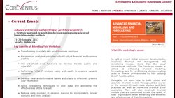 Advanced Financial Modelling & Forecasting 2014