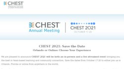 CHEST Annual Meeting 2018