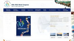 20th International Federation of Oto-Rhino-Laryngological Societies World Congress (IFOS 2013)