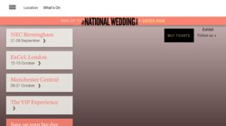 The National Wedding Show - Birmingham 2015