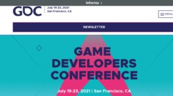 Game Developers Conference (GDC 2021)
