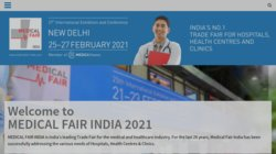 20th Medical Fair India 2015
