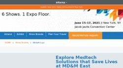 Medical Design & Manufacturing (MD&M East) 2013