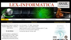 Lex-Informatica 2014: Cyber law, ICT  Law, Information Ethics Conference