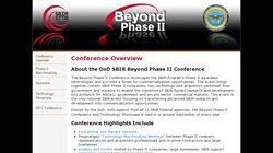 2013 National SBIR Beyond Phase II Conference