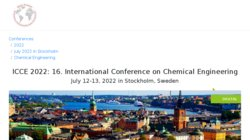 2015 Spring International Conference on Chemical Engineering (CEN-S)