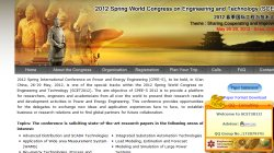 2012 Spring International Conference on Power and Energy Engineering (CPEE-S)