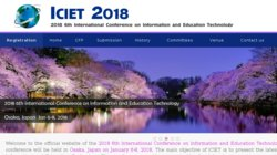 International Conference on Information and Education Technology - ICIET 2015