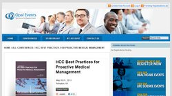 4th Annual HCC Best Practices for Proactive Medical Management 2013