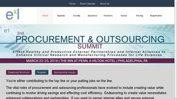 Pharma Outsourcing & Procurement Summit 2013