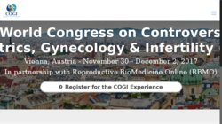 20th World Congress on Controversies in Obstetrics, Gynecology & Infertility (COGI) 2014