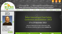 Dubai International Food Safety Conference - DIFSC 2013