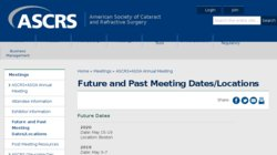 2014 Annual Meeting American Society of Cataract and Refractive Surgery (ASCRS) and the American Society of  Ophthalmic Administrators (ASOA) Congress on Ophthalmic Practice Management and the Technicians and Nurses Program