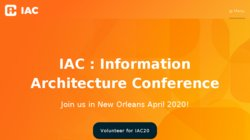 IA Summit 2016 - Information Architecture