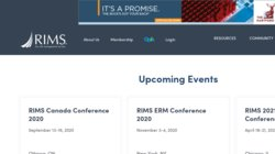 Risk Management Society (RIMS) 2020 Annual Conference & Exhibition