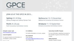 The General Practitioner Conference & Exhibition Sydney (GPCE) 2015