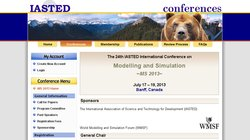 The 24th IASTED International Conference on Modelling and Simulation - MS 2013