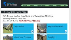 9th Annual Update in Altitude and Expedition Medicine 2016