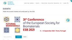 ESB 2014 - 26th Annual Conference of European Society for Biomaterials