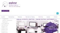 ESHNR 2015 - 28th Congress and Refresher Course of the European Society of Head and Neck Radiology