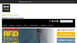 RFID Journal LIVE! - 14th Annual Conference and Exhibition 2016