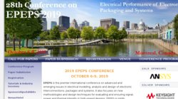 2015 IEEE 24th Conference on Electrical Performance of Electronic Packaging and Systems (EPEPS)